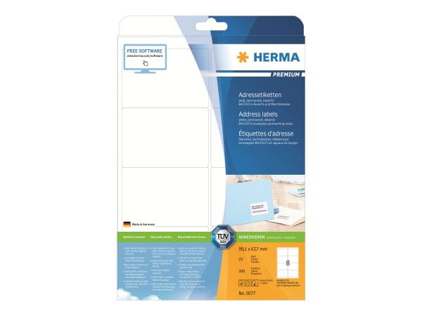 HERMA Papier, Folien, Etiketten 5077 1