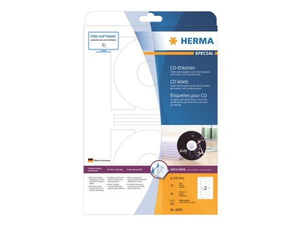 HERMA Papier, Folien, Etiketten 4849 1