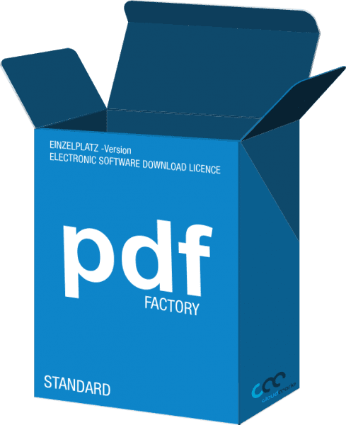 pdfFactory ESD - Download + Lizenz