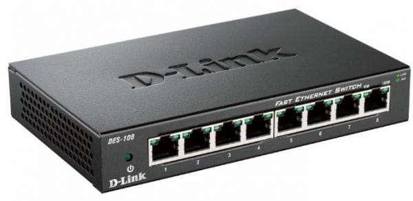 D-Link Netzwerk Switches / AccessPoints / Router / Repeater DES-108/E 1