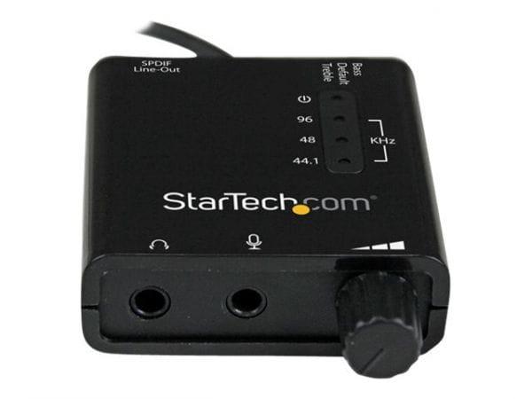 StarTech.com Soundkarten ICUSBAUDIO2D 3