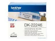 Brother Papier, Folien, Etiketten DK22246 1