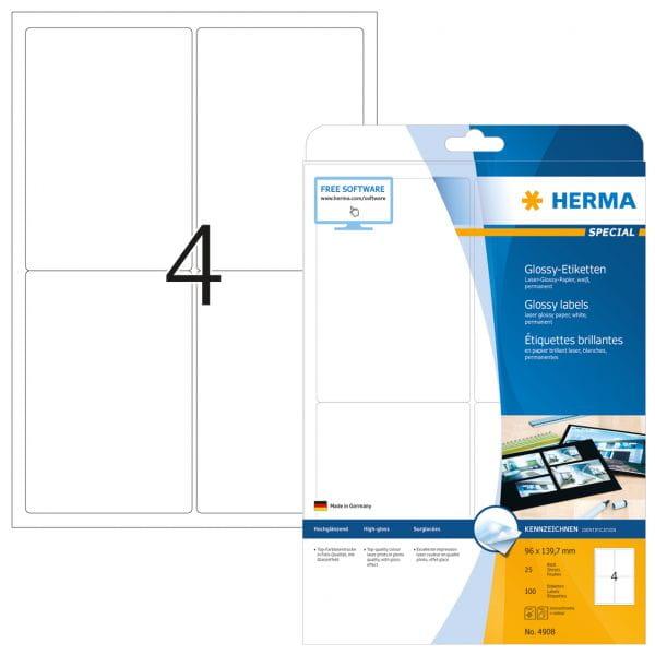 HERMA Papier, Folien, Etiketten 4908 4