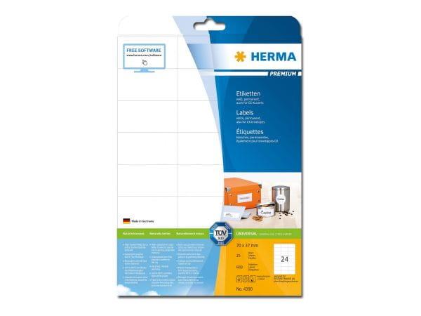 HERMA Papier, Folien, Etiketten 4390 1