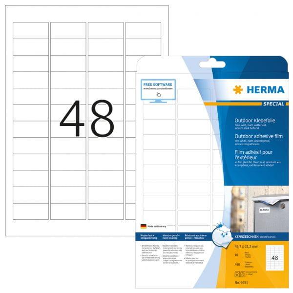 HERMA Papier, Folien, Etiketten 9531 3
