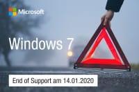 Windows 7 Support endet im Januar 2020