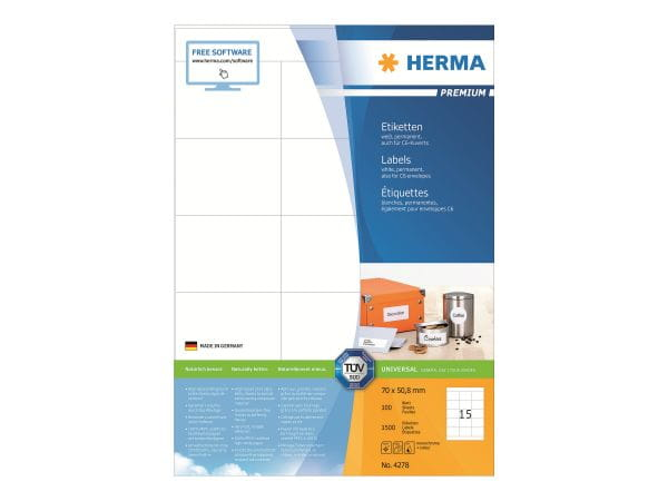 HERMA Papier, Folien, Etiketten 4278 1