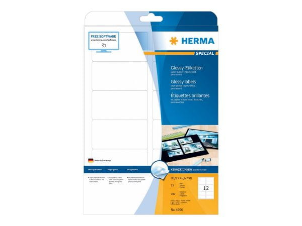 HERMA Papier, Folien, Etiketten 4906 1