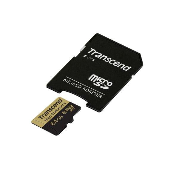 Transcend Speicherkarten/USB-Sticks TS64GUSDXC10V 2