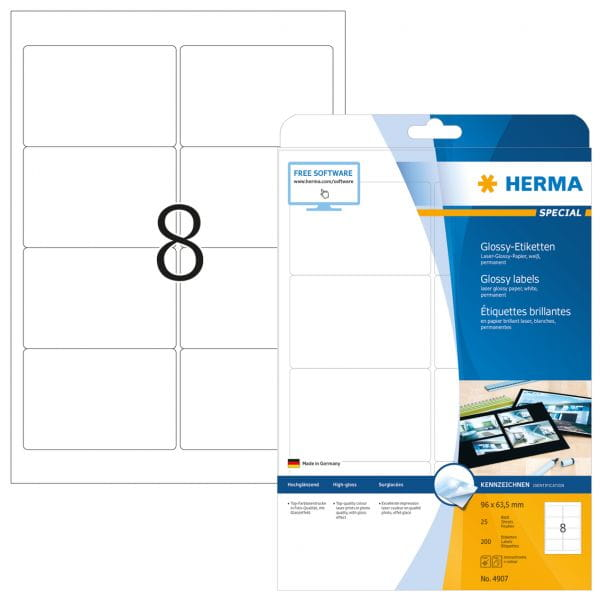 HERMA Papier, Folien, Etiketten 4907 4