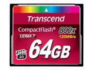 Transcend Speicherkarten/USB-Sticks TS64GCF800 1
