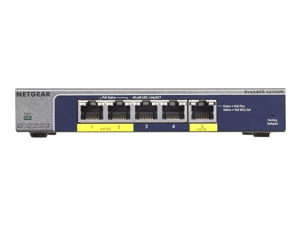 Netgear Netzwerk Switches / AccessPoints / Router / Repeater GS105PE-10000S 1