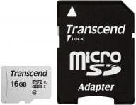 Transcend Speicherkarten/USB-Sticks TS16GUSD300S-A 1