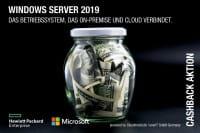 Satte HPE Cashbacks für Windows Server 2019 und HPE ProLiant Server DL160 und DL180