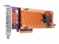 QNAP Storage Systeme Zubehör  QM2-4P-384 1