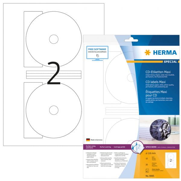 HERMA Papier, Folien, Etiketten 8885 4