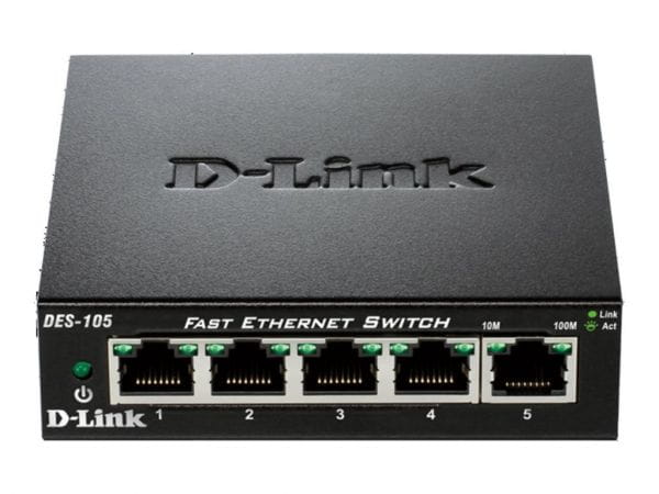 D-Link Netzwerk Switches / AccessPoints / Router / Repeater DES-105/E 4