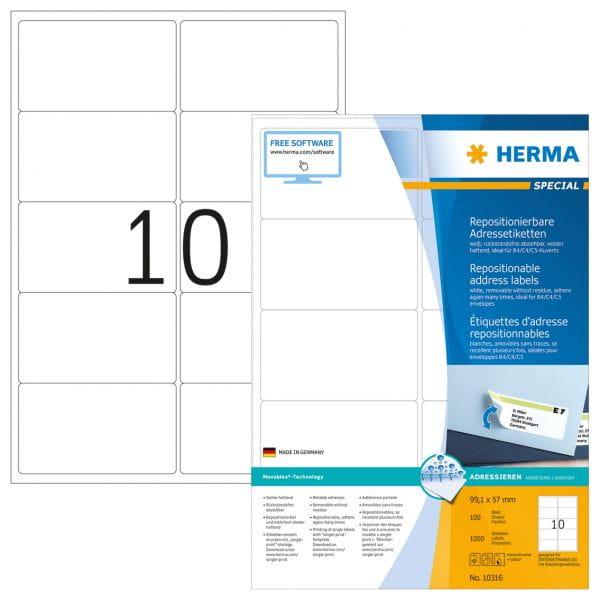 HERMA Papier, Folien, Etiketten 10316 4