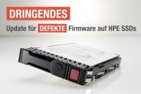 Dringendes Update für defekte Firmware auf HPE SSDs